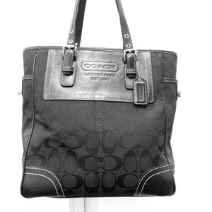 "COACH ""Lunch"" Tote - Black"